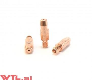 Šoba kontaktna 1,0 M6 za gorilnik MIG MB 25