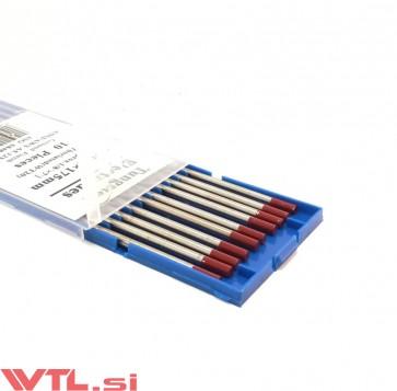 Elektroda TIG Wolfram 3.2mm WT20 RDEČA