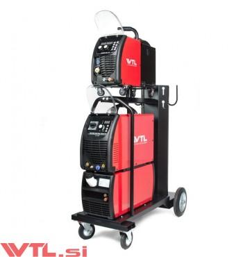 WTL MULTIMIG 500F DOUBLE PULSE Synergic SET MIG varilni inverter vodno hlajen