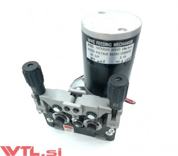 Pogon žice CO2 4 kolesni 24V 0,8-1,2mm