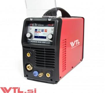 WTL POWERMIG 200 LCD SYNERGIC MIG/TIG/MMA varilni aparat