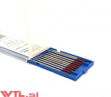 Elektroda TIG Wolfram 1.6mm  WT20 RDEČA