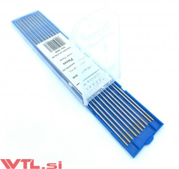 Elektroda TIG Wolfram 1.6mm WL15 ZLATA